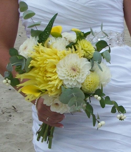 Ashlee Dahlia Bouquet 2012 | Dahlia Wedding Bride Bouquets