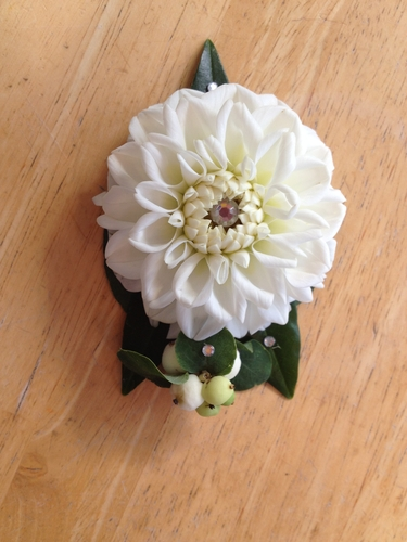Homecoming Corsages 2014 | Dahlia Wedding Bride Bouquets
