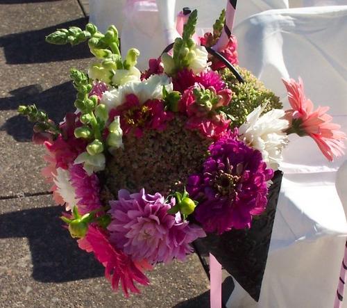 Princess Wedding Isle Bouquets | Dahlia Wedding Bride Bouquets