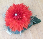 Orange Cushion Corsage