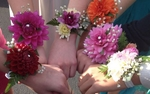 Corsages for Homecoming 2013